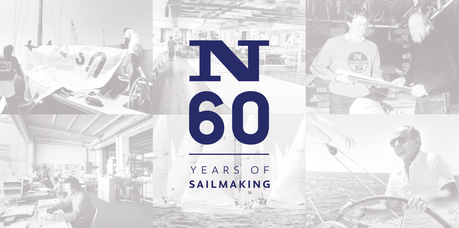 North Sails 60 Years
