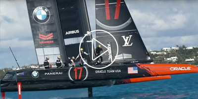 Making ORACLE TEAM USA's State-of-the-Art Sails for the 35th America's Cup