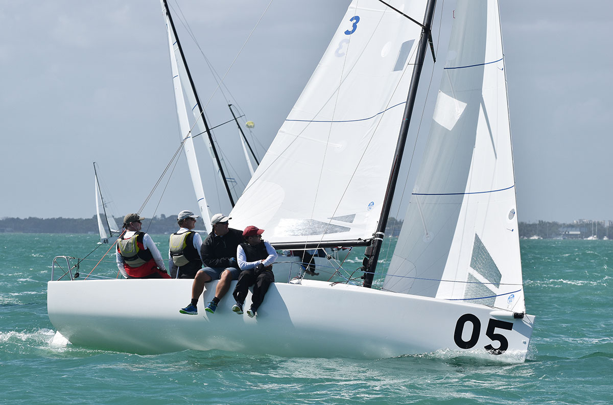 North Powers 1,2 at the J 70 Midwinters North   North Midwinters Sails 690fa4