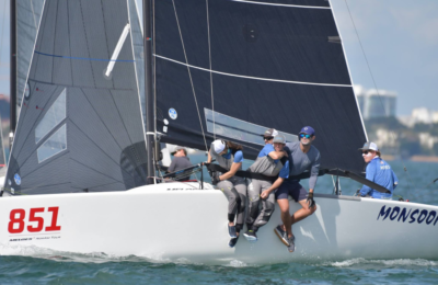 2019 Bacardi Winter Series - Melges 24 - 3Di by North Sails